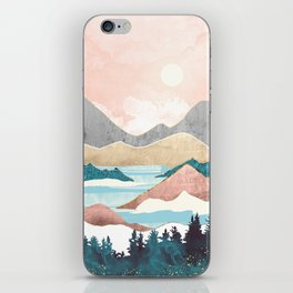 Lake Sunrise iPhone Skin