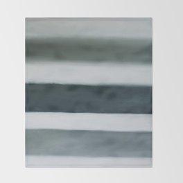 grey strata Throw Blanket