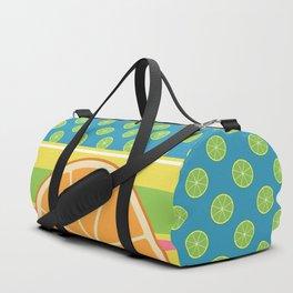 Summer Citrus Party Duffle Bag