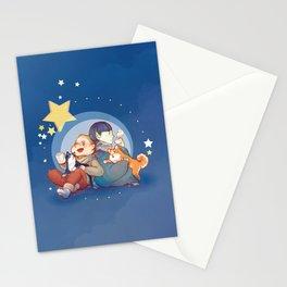 Kirk&Spock tea time Stationery Cards