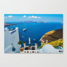 Santorini ii Canvas Print