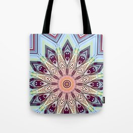 Feather Sun Tote Bag