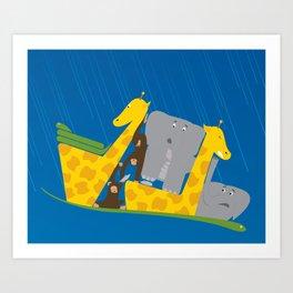 Noah's Ark Art Print