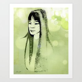 Eastern Princess Art Print