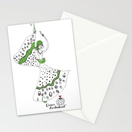 Maria- Lady Butterfly Stationery Cards