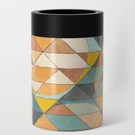 Triangles and Circles Pattern no.23 Can Cooler