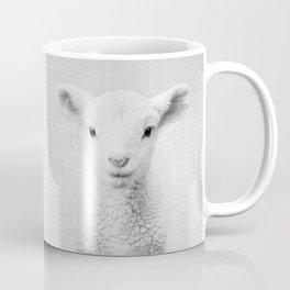 Lamb - Black & White Coffee Mug