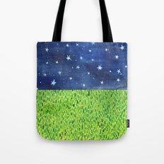 Grass & Stars Tote Bag