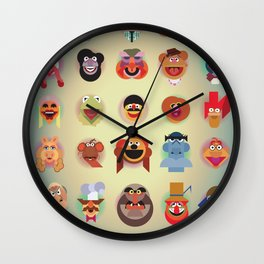 A(nimal) to Z(oot) Wall Clock