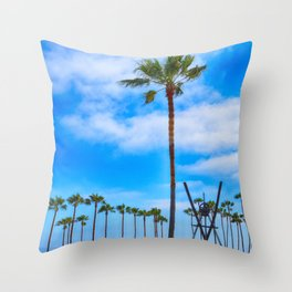 V for Venice Throw Pillow