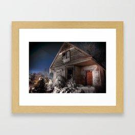 Icehouse Framed Art Print