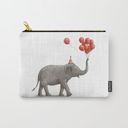 Party Elephant Carry-All Pouch