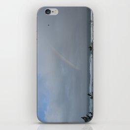 Rainbow over the Ocean iPhone Skin