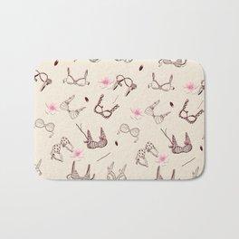 Pink Bras Bath Mat