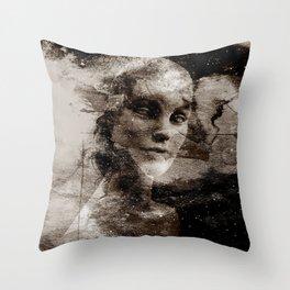 LIVING DOLL Throw Pillow