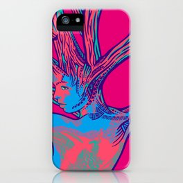 sleeping forest 16 iPhone Case