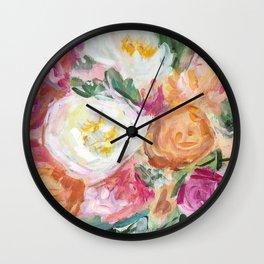 Say Things Wall Clock