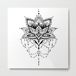 Mandala Roelie Metal Print