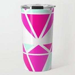 Color Block Diamonds Travel Mug