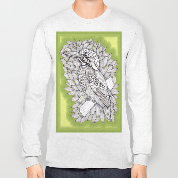 Zentangle Halcyon Long Sleeve T-shirt