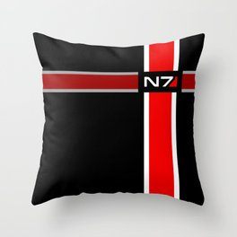 N7 The Effect Throw Pillow