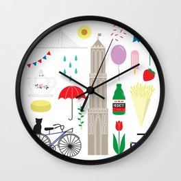 UTRECHT Wall Clock