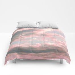 Delicate Sky Comforters