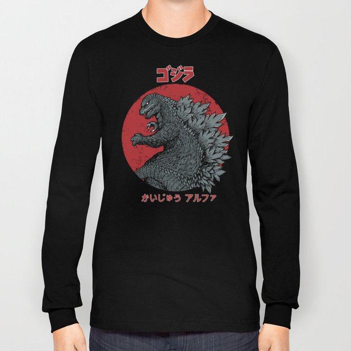 Gojira Kaiju Alpha Long Sleeve T-shirt