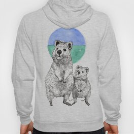 The Reign of the Quokka! Hoody
