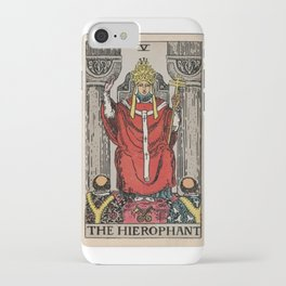 05 - The Hierophant iPhone Case