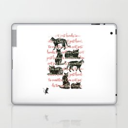 one cat just leads to another Laptop & iPad Skin