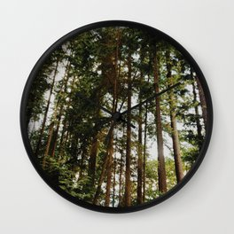 North Vancouver Forest Wall Clock