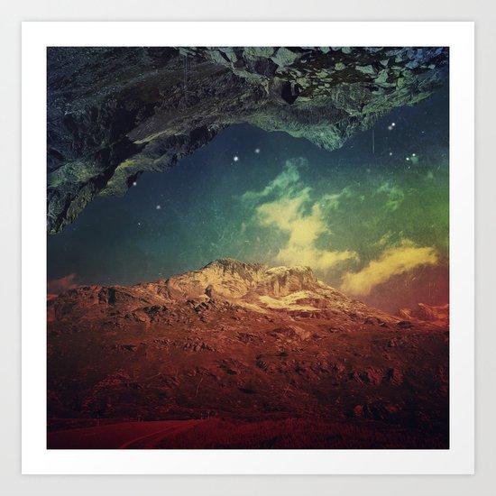 Dream Mountains Art Print