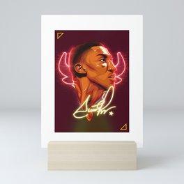 """Scottie """"33"""" Pippen (Special Edition) Mini Art Print"""