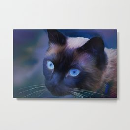 Sulley Blues Metal Print