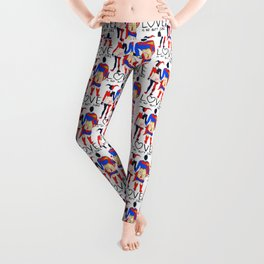 LOVE is no BUTT Joke - Super H Q Leggings