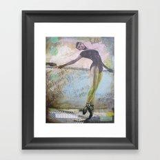 Dark Dreamer Framed Art Print