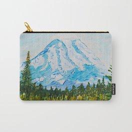 Mt. Rainier Washington Carry-All Pouch