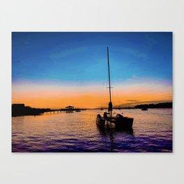 ámame Canvas Print