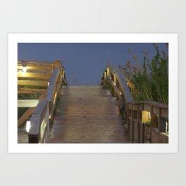 myrtle beach Art Print