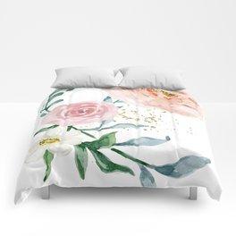 Rose Arrangement No. 1 Comforters