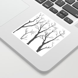 Bare Trees Sticker
