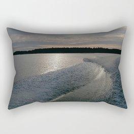 Leaving Rectangular Pillow