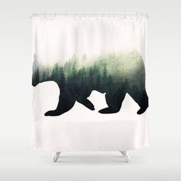 Aktouros 2 Shower Curtain