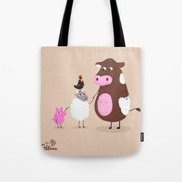 We Farm Animals Should Stick Together Tote Bag
