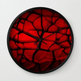 Fire Stone Wall Clock