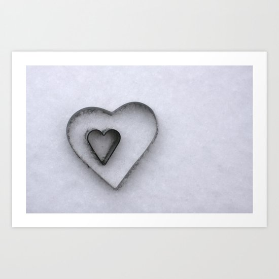 I carry your heart in my heart Art Print
