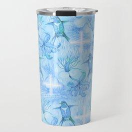 Colibri Flor Damask Travel Mug