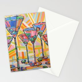 Martini Hour Stationery Cards