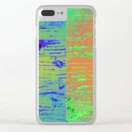 Splitsville Planet Clear iPhone Case